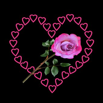 Emotions, Love, Heart, Valentine's Day, Rose, Give