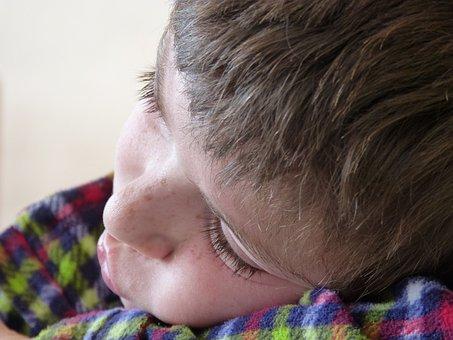Child, Cute, Dream, Laziness, Tired, Small, Portrait
