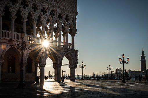 Venice, Doge's Palace, Architecture, Travel, City