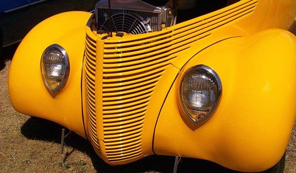 Classic Car, Vehicle, History, Automobile, Vintage