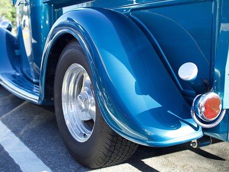 Car, Vehicle, Chrome, Drive, Wheel, Classic, Automobile
