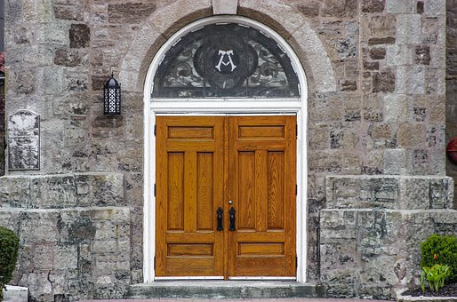 Architecture, Door, Wall, Facade, Old, Entrance, Church