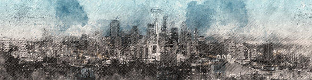 Panoramic, Fog, Nature, Panorama, Winter, Travel