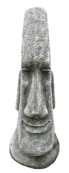 Face, Head, Ceramic, Statue, Steinkopf, Gnome, Figure