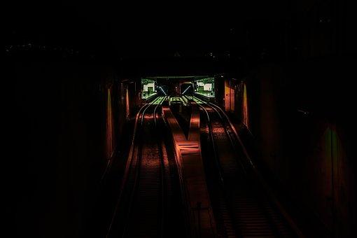 Dark, Light, Illuminated, Indoors, Abstract, Mystery
