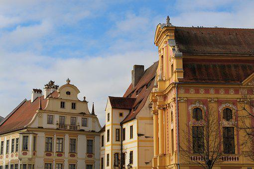 Architecture, Old, Building, Travel, City, Neuburg A, D