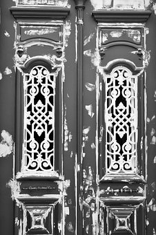 Ornate, Architecture, Door, Old, Paint, Renovation