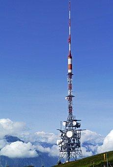 Transmission Tower, Radio, Watch Tv, Telecommunications