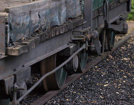 Industry, Steel, Train, Transport System, Iron, Scrap