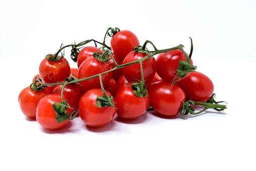 Tomatoes, Trusses, Red, Vegetables, Food, Vegetarian
