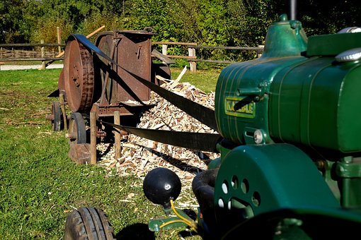 Agriculture, Craft, Old, Chop, Wood Chips