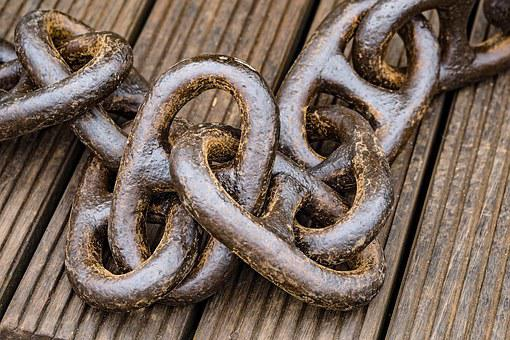 Chain, Anchor Chain, Links Of The Chain, Shipping