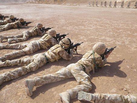 Afghanistan, Shooting Range, Military
