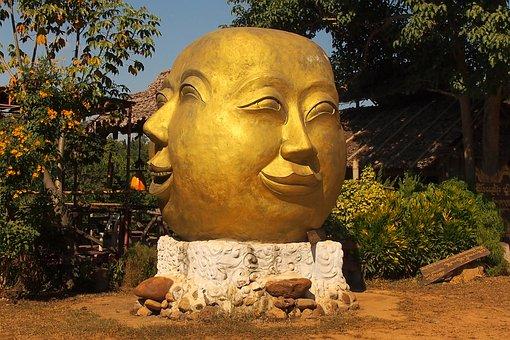 Sculpture, Statue, Buddha, Stone, Religion
