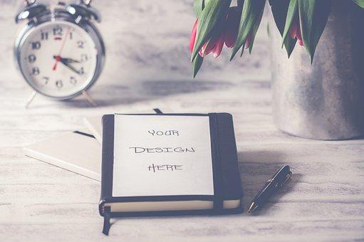 Clock, Paper, Winter, Business, No Person, Still Life