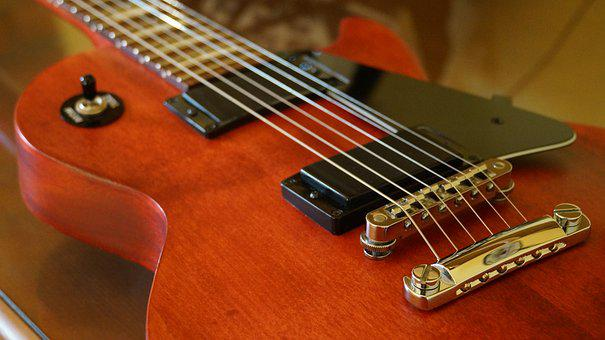 Gibson, Guitar, Electric Guitar, Strings, Instrument