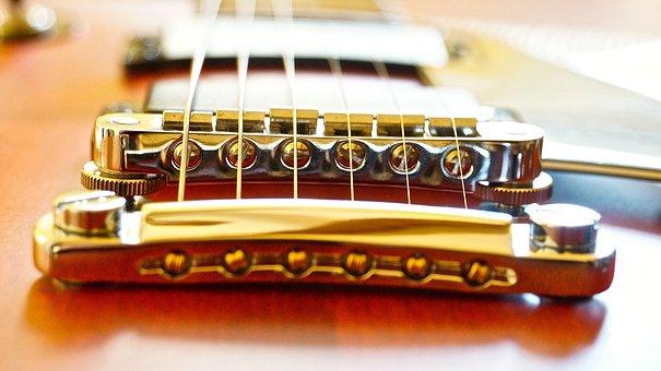 Gibson, Easel, Guitar, Music, Instrument
