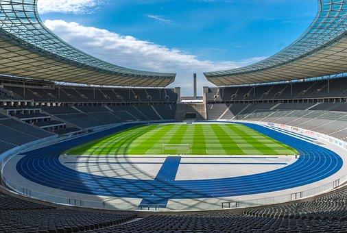 Stadium, Grandstand, Sport, Football
