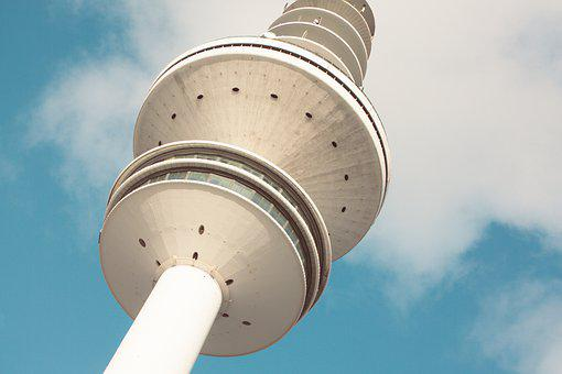 Hamburg, Hanseatic City, Fair, Tv Tower, Landmark