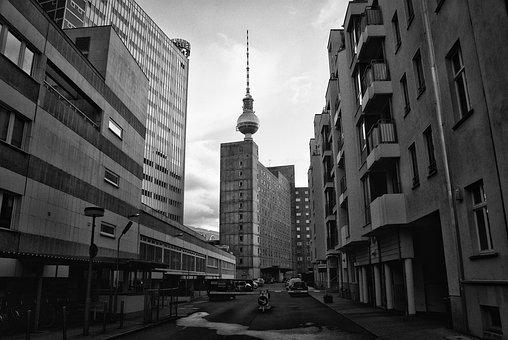 Architecture, City, Road, Building, Horizontal