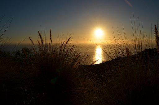 Sunset, Dawn, Evening, Dusk, Sun, Landscape, Sea