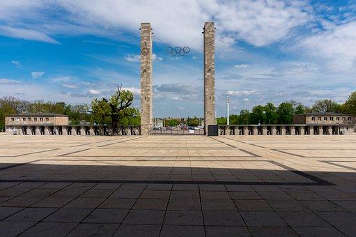 Architecture, Monument, Berlin Olympic Stadium