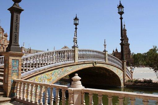 Architecture, Travel, Building, Outdoors, Bridge