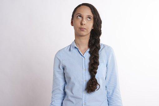 Bored, Woman, Eye, Roll, Eye Roll, Annoyed, Displeased
