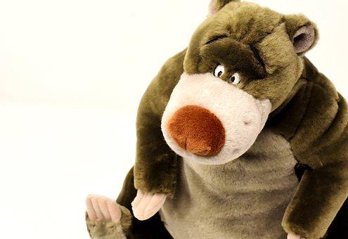 Bear, Soft Toy, Stuffed Animal, Cute, Toys, Bears