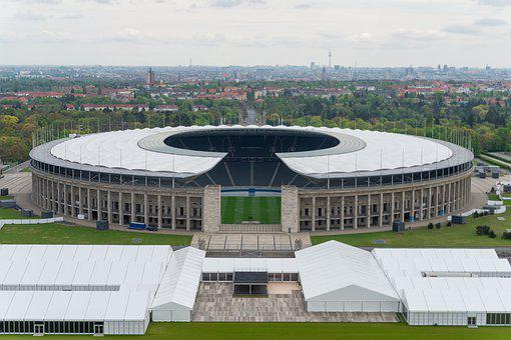 Architecture, Berlin Olympic Stadium, Football, Sport