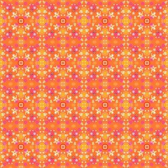Desktop, Pattern, Abstract, Orange, Texture, Backdrop