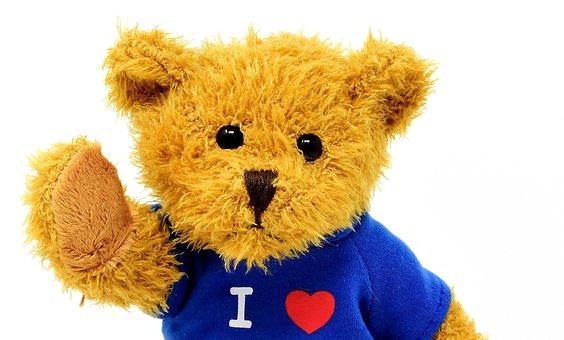 Teddy, Cute, Animal, Soft Toy, Love, Stuffed Animal