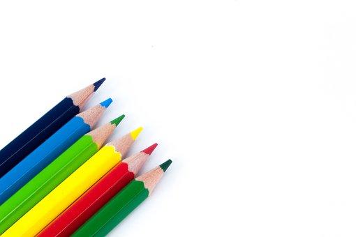 Pencil, Education, Creativity, School, Color Pencil