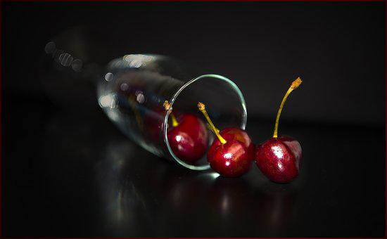 Fruit, Shining, Food, Cherry, Nature, Delicious, Health