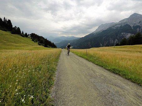 Landscape, Nature, Road, Grass, Sky