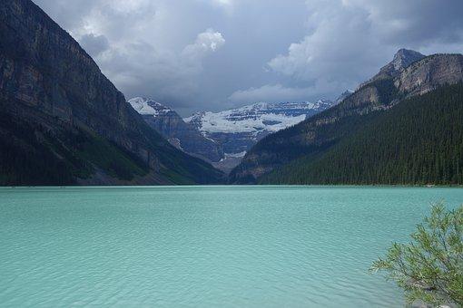 Waters, Mountain, Nature, Landscape, Lake, Panorama