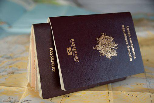 Passport, Border, Customs, Traveler