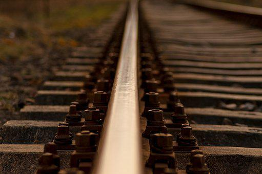 Railroad Track, Railway, Track, Train, Locomotive