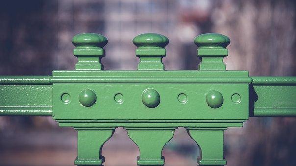 Railing, Detail, Art Nouveau