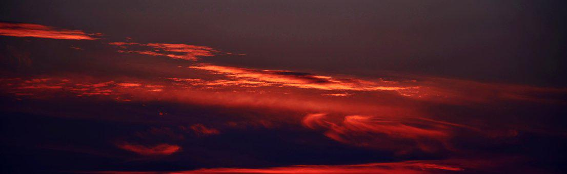 Panorama, Background, Art, Wallpaper, Texture, Sunset