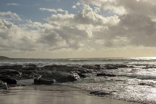 Water, Sea, Beach, Seashore, Landscape, Panoramic