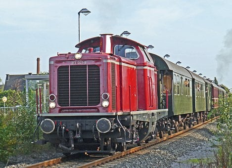 Diesel Locomotive, Special Train, V100, V 100, Br212