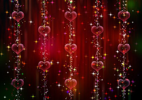 Background, Valentine, Heart, Love, Romance, Bright