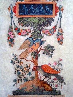 Wallpaper, Baroque, Birds, Castle, Prague, Bohemia
