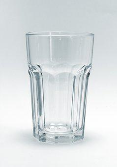 Glass, Drink, Water Glass, Clear, Drinking Cup