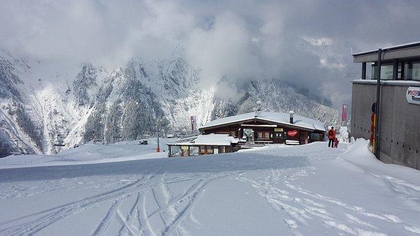 Snow, Winter, Cold, Frozen, Ice, Mountain
