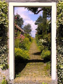 Nature, Goal, Home, Garden, Tree, Summer, Plant