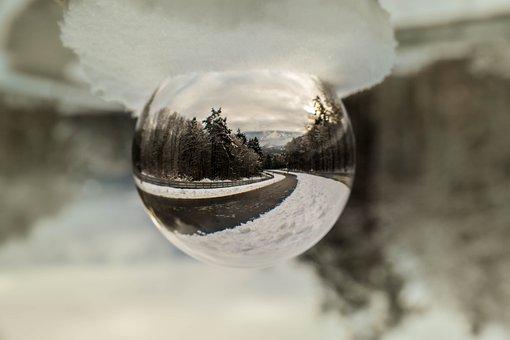 Nature, Still Life, Reflection, Glass