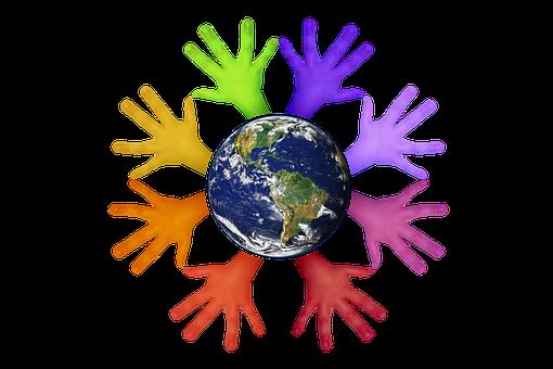 Volunteers, Hands, Help, Voluntary, Wrap, Protect