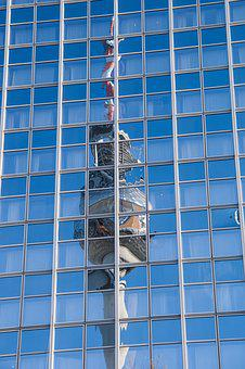 Architecture, Building, Glass, Sky, Steel, Modern